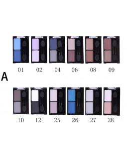 Компактные тени для век Eyeshadow Набор А 1002