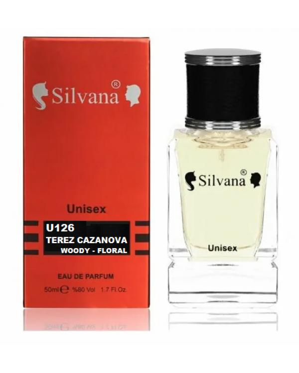 126U Silvana Парфюм TEREZ CAZANOVA 50ml