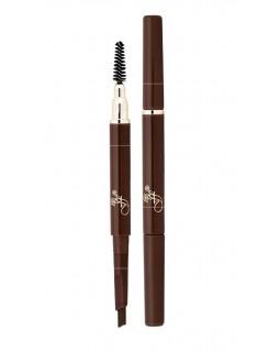 ES-412 Brown Карандаш для бровей с щеточкой автоматический