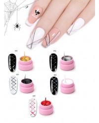 Гель Паутинка для дизайна ногтей   - по низким ценам