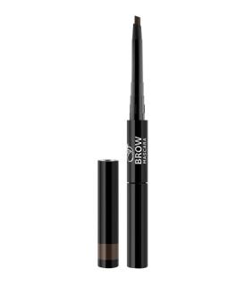 BME-17 DARK BROWN Моделирующая тушь для бровей и карандаш для бровей