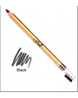 E-7616 Black Карандаш для глаз со щеточкой