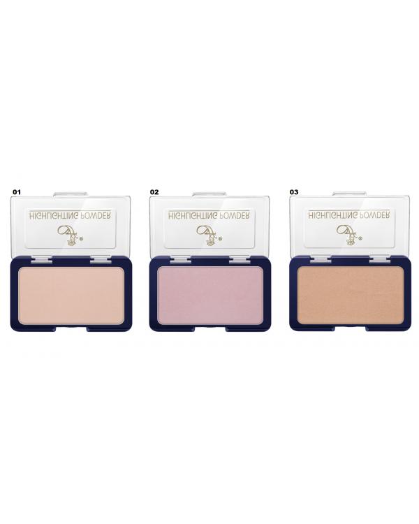 PP-44 (набор 1-3) Основа под макияж с эффектом Хайлайтера Highlighting Powder (*6)