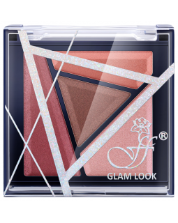 E-224S №2 Тени для век Glam Look 4-х цветные (*6)