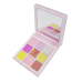 """1235 (4 Pastels ROSE) Тени для век 9-ти цветные """"NUDE Light"""" (матовые/перламутровые)"""