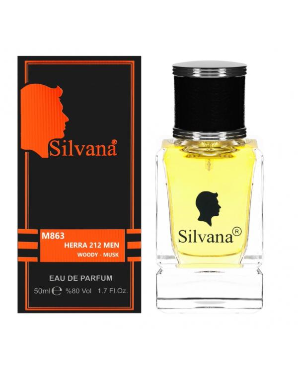 """863-M """"Silvana"""" Парфюм """"HERRA 212 MEN"""" 50ml"""
