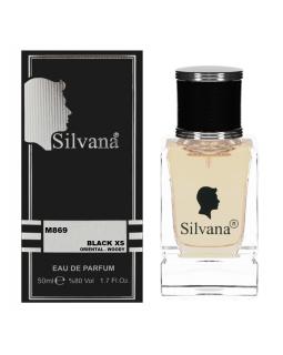 "869-M ""Silvana"" Парфюмерная вода XS  BLACK 50ml"
