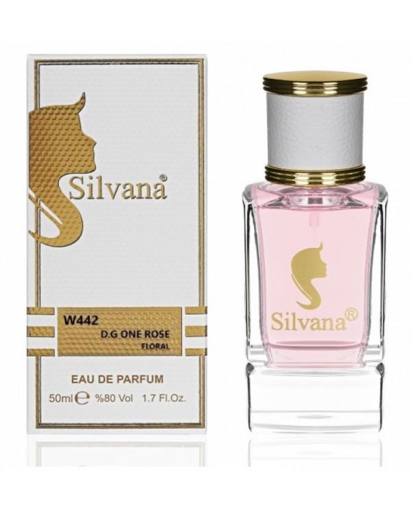 "442-W ""Silvana"" Парфюм вода ""D.G. ONE ROSE""  50ml"