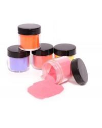 Цветные пудры для дизайна ногтей  10g - по низким ценам