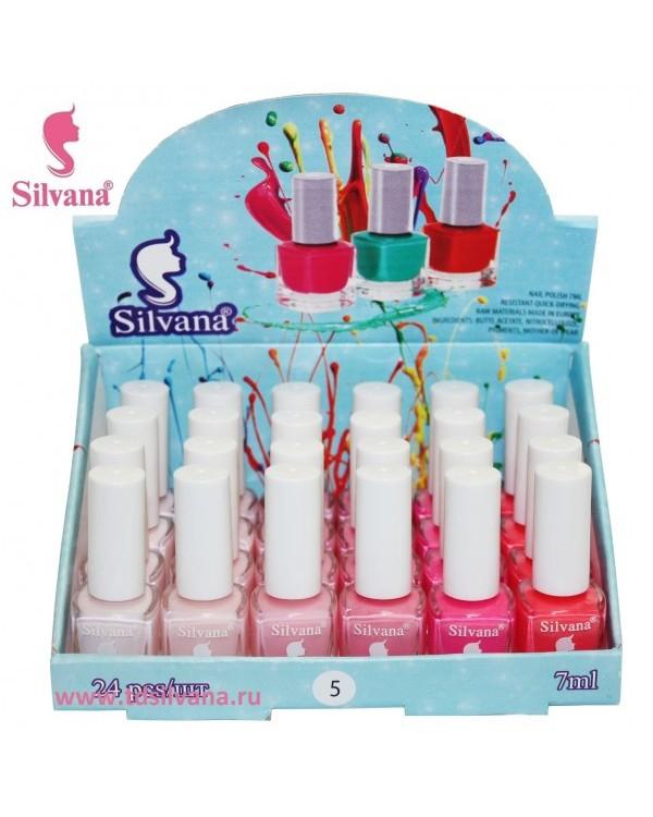 005 Лак для ногтей  Silvana 7 ml