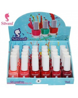 008 Лак для ногтей  Silvana 7 ml